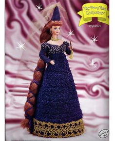 The Fairy Tale Collection Rapunzel Fashion by grammysyarngarden