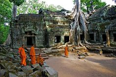 Cambodia - Tha Prom- Siam Reap.