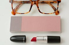Glasses - square and tortoise shell - can't go wrong