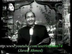 Madhuban Main Radhika - Mohammad Rafi Live With Naushad - YouTube