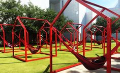 Los Trompos (Spinning Tops), Héctor Esrawe and Ignacio Cadena, High Museum Atlanta, 2015 - Playscapes