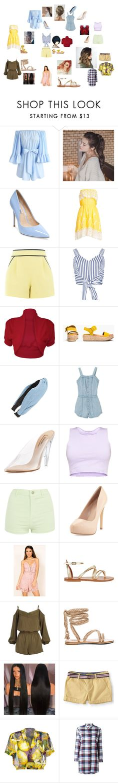 """When you wish upon a star"" by hannahbeast on Polyvore featuring Chicwish, GABALNARA, Steve Madden, Christophe Sauvat, Boutique Moschino, WithChic, WearAll, Kenneth Cole Reaction, Cara and RVCA"