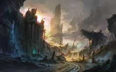 fantasy art landscapes - Google zoeken