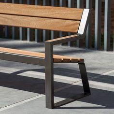 Why Teak Outdoor Garden Furniture? Welded Furniture, Steel Furniture, Living Furniture, Handmade Furniture, Industrial Furniture, Furniture Projects, Wood Projects, Furniture Design, Urban Ideas