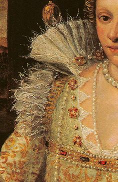 Domenico Robusti Tintoretto Portrait of a Lady in White