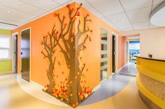 This portfolio is about Springdale kidz dentistry interior design in ANNANDALE VA Hallway Designs, Healthcare Design, Dentistry, Feng Shui, Dental, Table Lamp, Interior Design, Space, Furniture