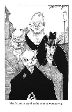 Neil Gaiman The Graveyard Book Chris Riddell. Article by Margaret Atwood for the guardian Neil Gaiman, Chris Riddell, The Graveyard Book, Quentin Blake, Horror Art, Book Illustration, Art Drawings, Sketchbook Drawings, Art Sketches