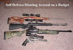 Building an arsenal to prepare for both your self defense and hunting needs can be an expensive undertaking.