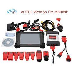 100% Original AUTEL MaxiSys Pro MS908P Automotive Diagnostic & ECU Programming System with J2534 reprogramming box DHL free ship