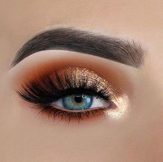 I love this eye makeup look