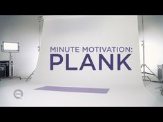 A plank is a workout like no other! Learn different techniques from this minute motivation workout routine