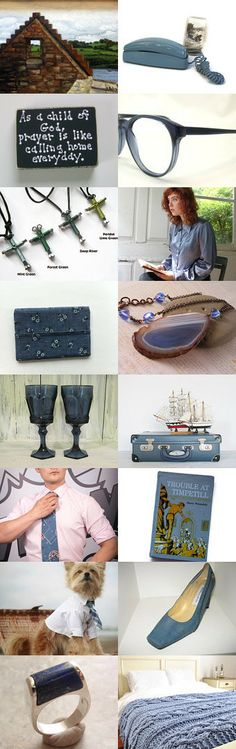 Once upon a time in a stone cottage... by Linda Lou on Etsy--Pinned with TreasuryPin.com