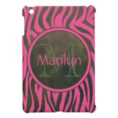 Monogrammed Camouflage Green Pink Zebra Stripes Case For The iPad Mini so please read the important details before your purchasing anyway here is the best buyHow to          	Monogrammed Camouflage Green Pink Zebra Stripes Case For The iPad Mini Here a great deal...