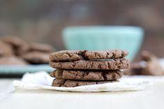 mbakes: {3 Ingredient} Nutella Stuffed Nutella Cookies