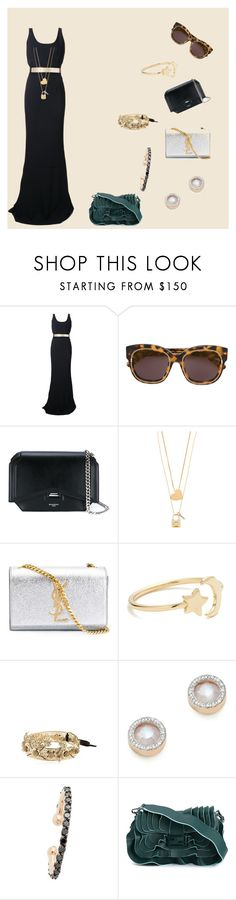 """""""fashion with stars"""" by ramakumari ❤ liked on Polyvore featuring STELLA McCARTNEY, Givenchy, Tory Burch, Yves Saint Laurent, Ariel Gordon, Vittorio Ceccoli, Monica Vinader, Kismet by Milka, Fendi and vintage"""