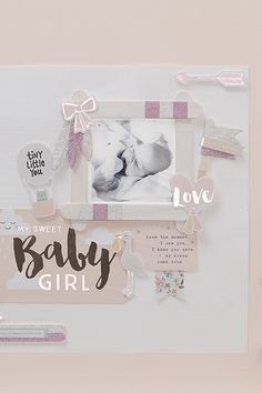 The Project Life Value kits can also be used to create 12 x 12″ layouts to add to you Project Life album. The Little You Baby kit comes in both boy and girl versions allowing you to create tailored layouts just for your little one. #projectlife #scrapbooking #scrapbook #baby #newbaby #journaling #scrapbookinglayout