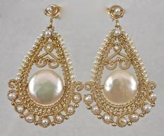 Pearls and Swirls by twotightlywound on Etsy, $235.00