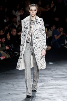 Roberto Cavalli Fall 2014 Runway Show | Milan Fashion Week | POPSUGAR Fashion
