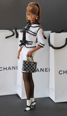2008 Toujours Couture Chanel Barbie by fashiondollcollector