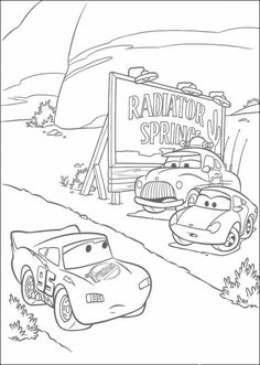 Lightning Mc Queen Racing Coloring Page Are You Looking For Cars Pages Hellokids Has Selected This Lovely