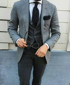 Gray & Black
