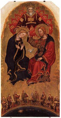 Gentile da Fabriano, Valle Romita Polyptych (detail), c. 1410-1412, Pinacoteca di Brera, Milan