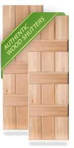 Wood Board-n-Batten Shutters - Exterior Shutters | Shop DIY