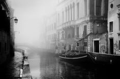 Il ponte nella nebbia... by Giuseppe Desideri, via Flickr