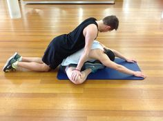 Back Exercises: There are many reasons of the Back pain and Back stretcheshelps to soft the muscles.back exercisesare also helpful to eliminate the pack pain. Flexibility Workout, Exercise Moves, Partner Stretches, Personal Development Coach, Medical Health Care, Muscle Spasms, Back Exercises, Back Muscles, Health Remedies