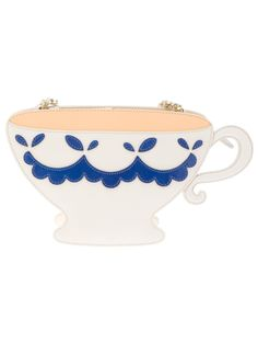 Moschino Cheap & Chic Teacup Shoulder Bag in Beige (cream)