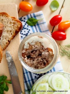 wieprzowina_w_sloikach Oatmeal, Food And Drink, Appetizers, Breakfast, Recipes, Decoupage, Meat, Kochen, The Oatmeal