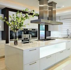 The Baystone Custom Home contemporary kitchen