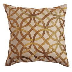Art Deco Pillow Cover – another cool pattern for the linen couch.