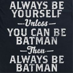 Be Batman Kid's T Shirt