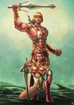 He-man Teela by cric on DeviantArt