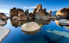 Lake Rocks Landscape