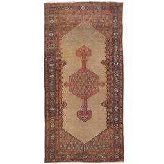 Antique circa 1880 Persian Serab Rug 1880 DIMENSIONS 4 ft. 1 in.Wx8 ft. 4 in.L 124 cmWx254 cmL