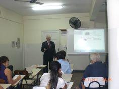 Palestra na Humanas (Faculdade - Vitória/ES Brazil)