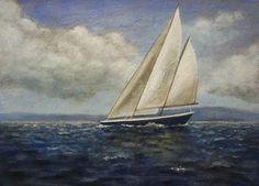 Andrea Kowch | ACRYLIC | Sailing