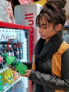 How you can make the most amazing Coca-Cola icy beverage w/ the Arctic Coke Cooler at Chevron. #MakeIcyMagic #ad