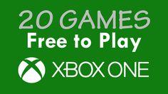 Todos os 20 Games FREE para o Xbox One (08/2015)