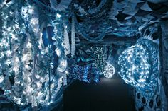 Pavilion of Portugal 2013 Trafaria Praia Joana Vasconcelos (it's like being inside the belly of a whale)