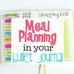 Come see how I use my Bullet Journal to make meal planning even easier! I'm also sharing my other favorite free meal planning tool and app!