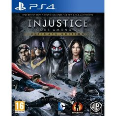 Play your favorite DC Comics heroes and villains in fast-paced combat with Injustice: Gods Among Us-Ultimate Edition for PlayStation Vita. New characters include Batgirl, Lobo, Martian Manhunter and more. Injustice 2, Mortal Kombat, Dc Comics, Nintendo Ds, Nintendo Switch, Arcade, Killzone Shadow Fall, The Joker, Videogames