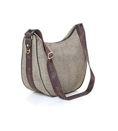 """LUNA BAG"" MEDIUM IN JET O.P. E PELLE - LUNA WORLD"