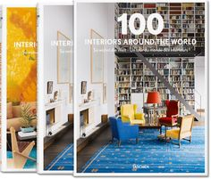 Published by TASCHEN Books: 100 Contemporary Houses - 100 Interiors Around the World - Century Travel - Dalí. Interior Design Books, Book Design, Interior Photo, Interior Paint, Taschen Books, Coffee Table Books, Deco Design, Contemporary Style, Revenge