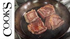 Equipment Review: Best Carbon-Steel Skillets.  ((Seasoning method with potato peel, salt & oil.  Works amazingly.   Interesting as a old cowboy said to do the same thing as well!  He also said to cook a lot of potatoes and bacon in the pans to get the finish you are looking for.))