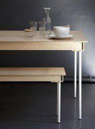 [CRAFT+DESIGN] Pedersen + Lennard breakfast table