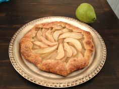 Rustic Pear Tart...addition to the Thanksgiving desserts