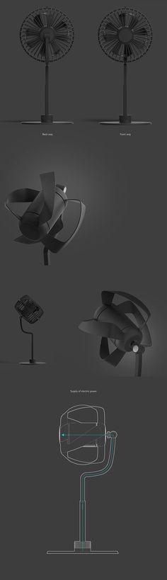 2 Way Electric Fan on Behance